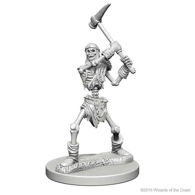 D&D Nolzurs Marvelous: Unpainted Minis - Skeletons