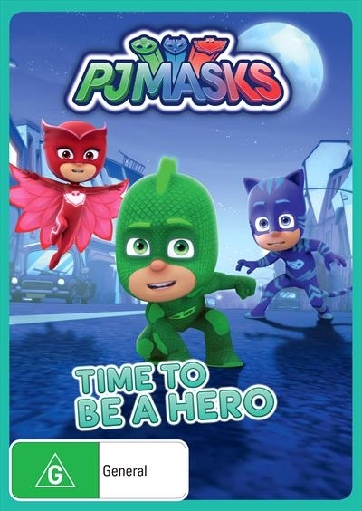 PJ Masks - Time To Be A Hero on DVD