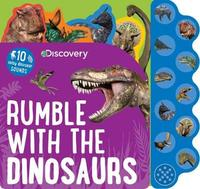 Discovery Rumble with the Dinosaurs by Parragon Books Ltd image