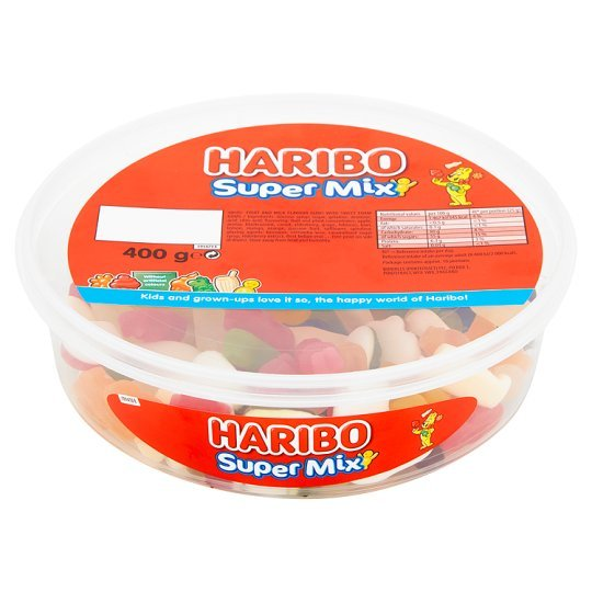 Haribo Super Mix Tub 400g