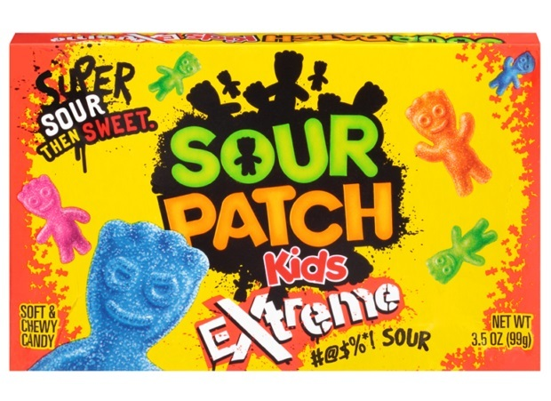 Sour Patch Kids Extreme Theater Box 99g