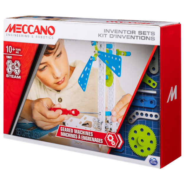 Meccano: Inventor Set #3 - Geared Machines