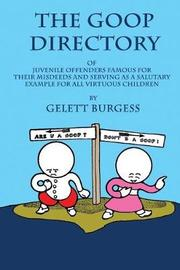 The Goops Directory by Gelett Burgess
