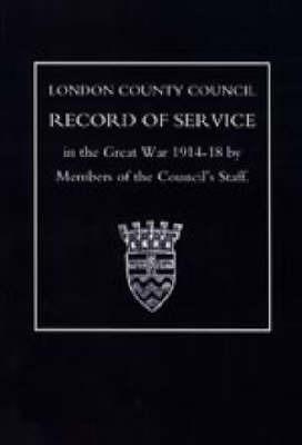 L.C.C.Record of War Service image