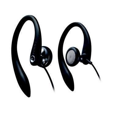 Philips SHS3200 Black Sport In Ear Hook Headphone image