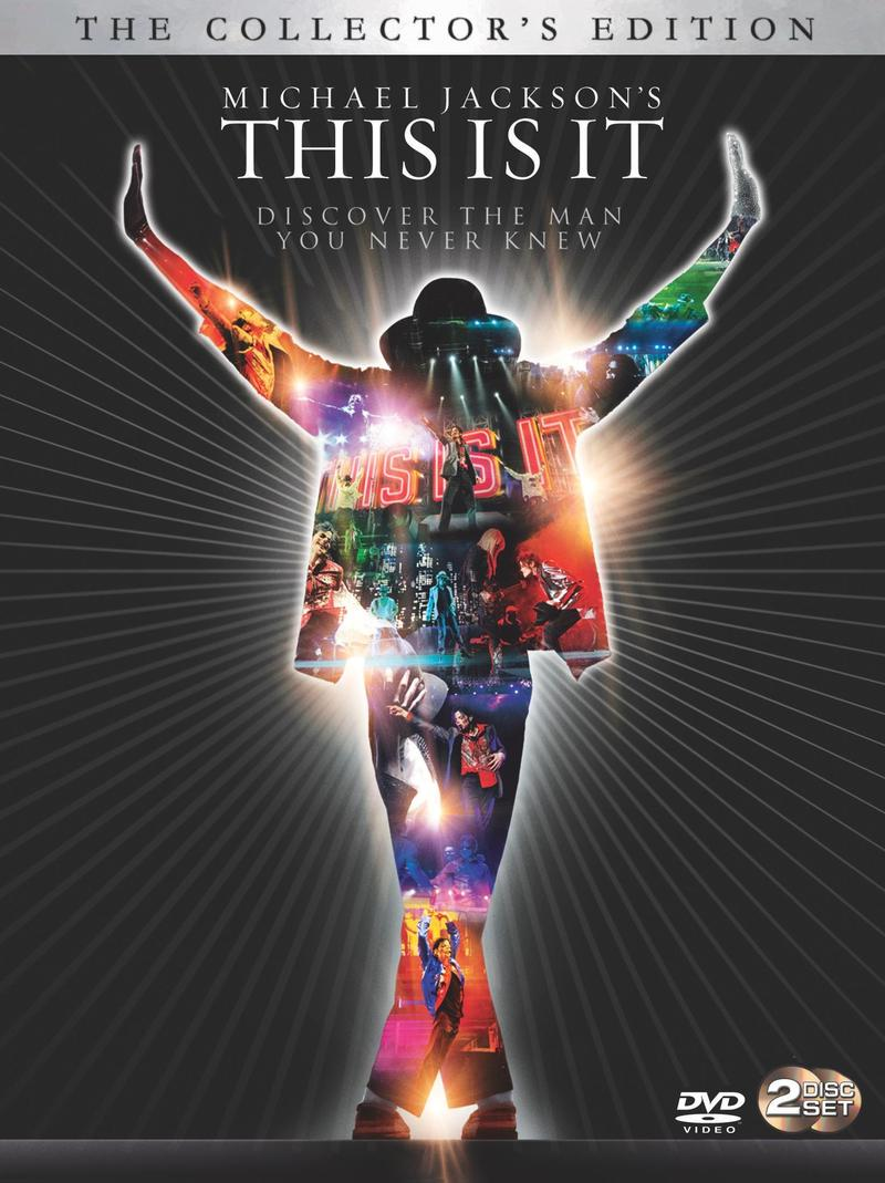 Michael Jackson - This Is It: Limited Edition Deluxe (2 Disc Box Set) on DVD image