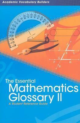 Essential Mathematics Glossary 2 by Red Brick Learning