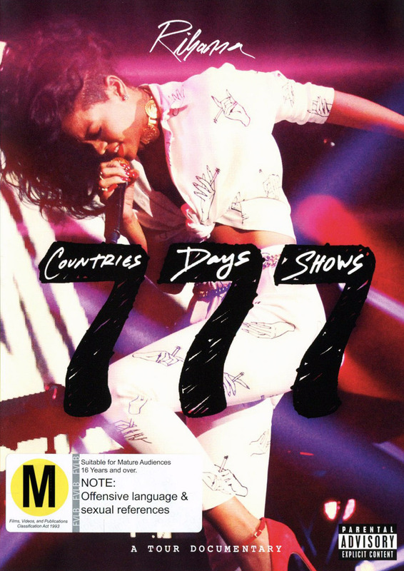 Rihanna 777 TOUR… 7 Countries 7 Days 7 Shows on DVD