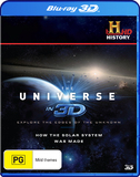 The Universe In 3D: How The Solar System Was Made DVD