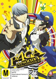 Persona 4: The Golden Animation (Subtitled Edition) on DVD