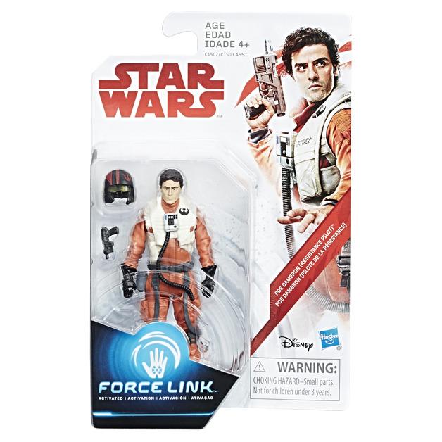 Star Wars: Force Link Figure - Poe Dameron (Resistance Pilot)