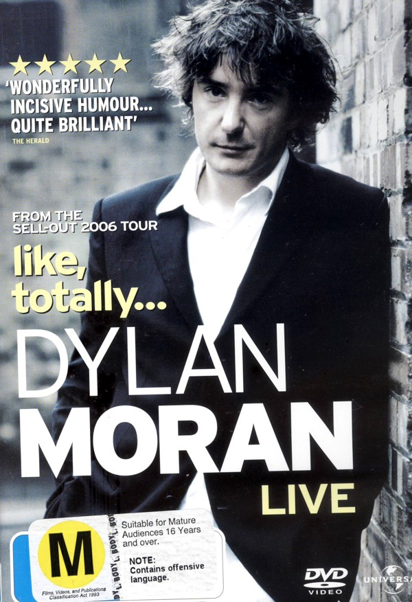 Dylan Moran: Like Totally on DVD image