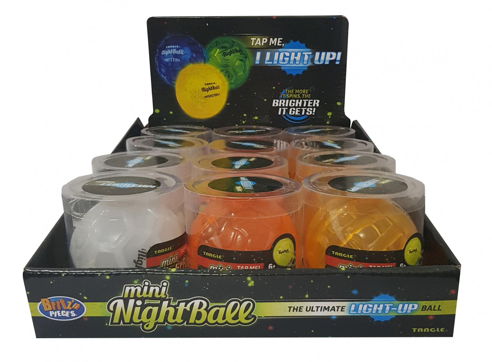 Britz 'n Pieces: Nightball Mini Ball - Soccer image