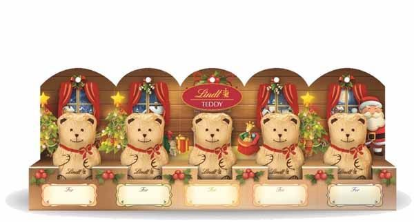 Lindt Teddy 5 Pieces 50g