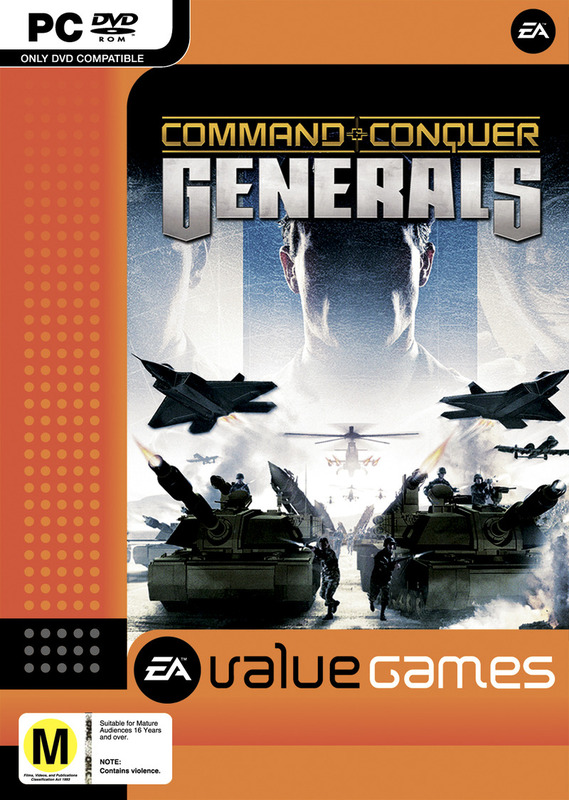 Command & Conquer: Generals (Value Games) for PC Games