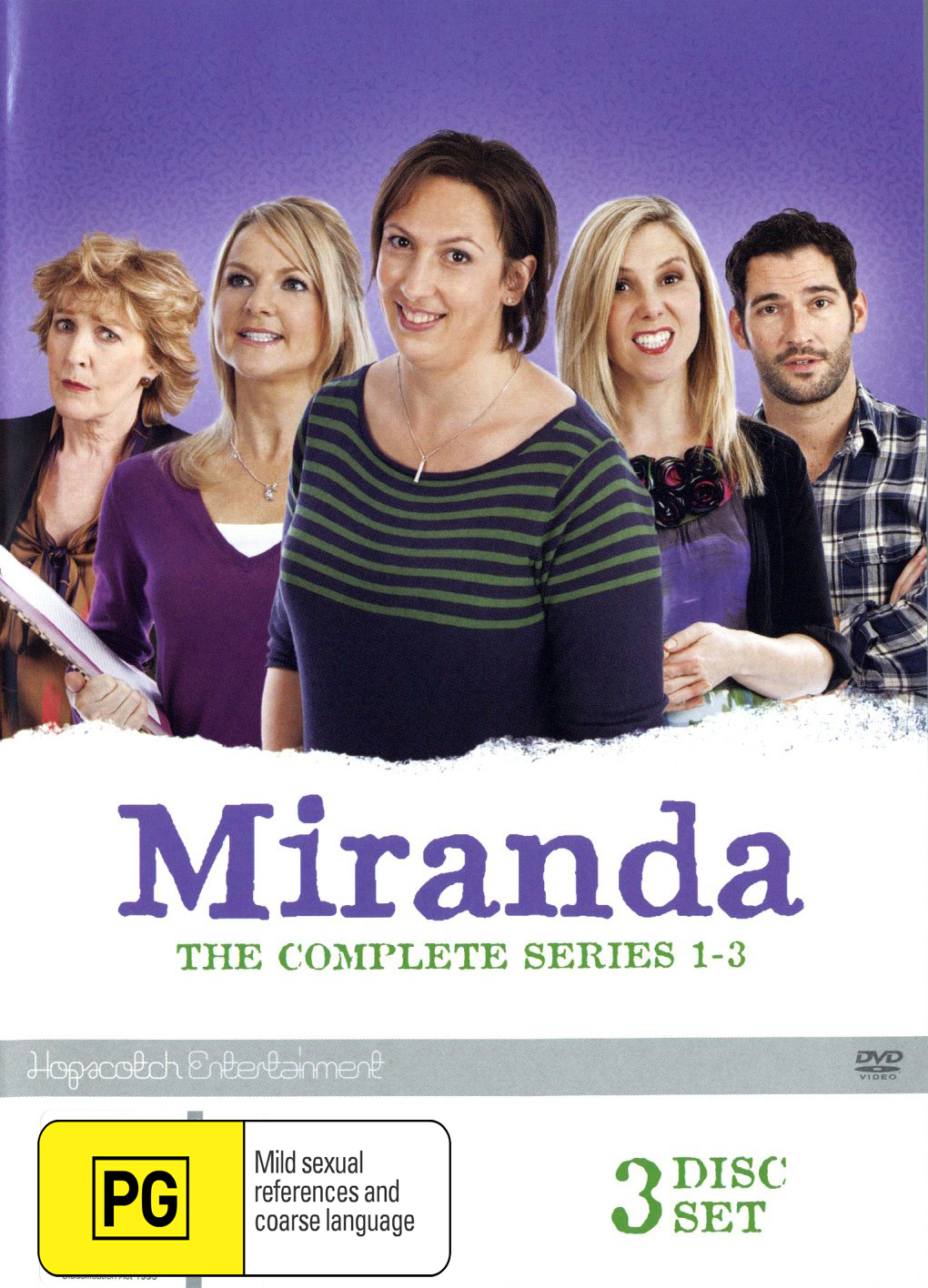 Miranda - The Complete Series One - Three on DVD image