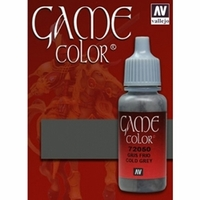 Vallejo Game Colour Cold Grey 17ml