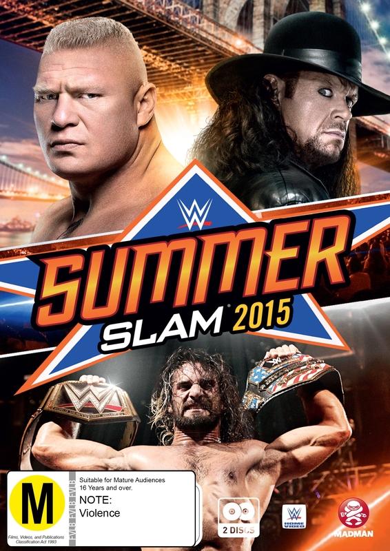 WWE - Summerslam 2015 on DVD