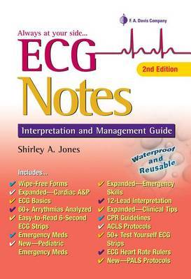 ECG Notes by Shirley A Jones image