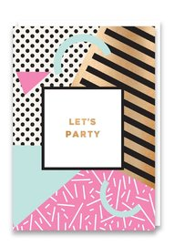 Nineteen Seventy Three: Let's Party - Greeting Card image