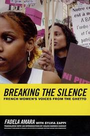 Breaking the Silence by Fadela Amara image
