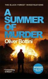 A Summer of Murder by Oliver Bottini image