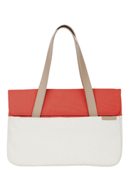 "STM: Grace Deluxe Sleeve for 15"" - Coral/Dove"