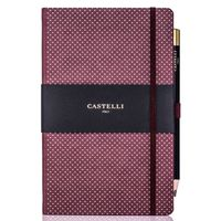 Castelli: Dotty Notebook - Burgundy