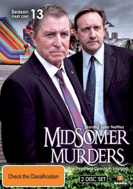 Midsomer Murders - Season 13: Part 1 (2 Disc Set) on DVD