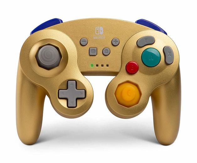 Nintendo Switch Wireless GameCube Controller - Gold Metalic for Switch
