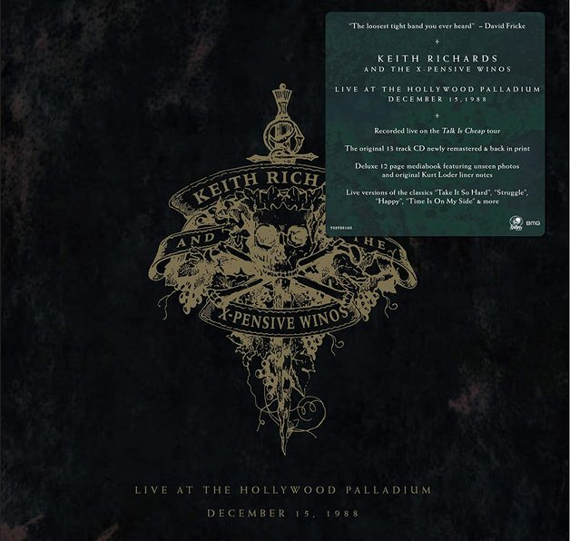 Live At The Hollywood Palladium by Keith Richards