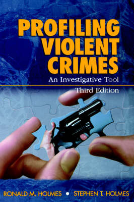 Profiling Violent Crimes: An Investigative Tool by Ronald M. Holmes image