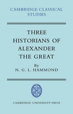 Cambridge Classical Studies by N.G.L. Hammond