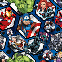 Avengers School Book Covering (1M)