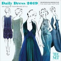 Daily Dress 2019 Wall Calendar by Metropolitan Museum of Art the