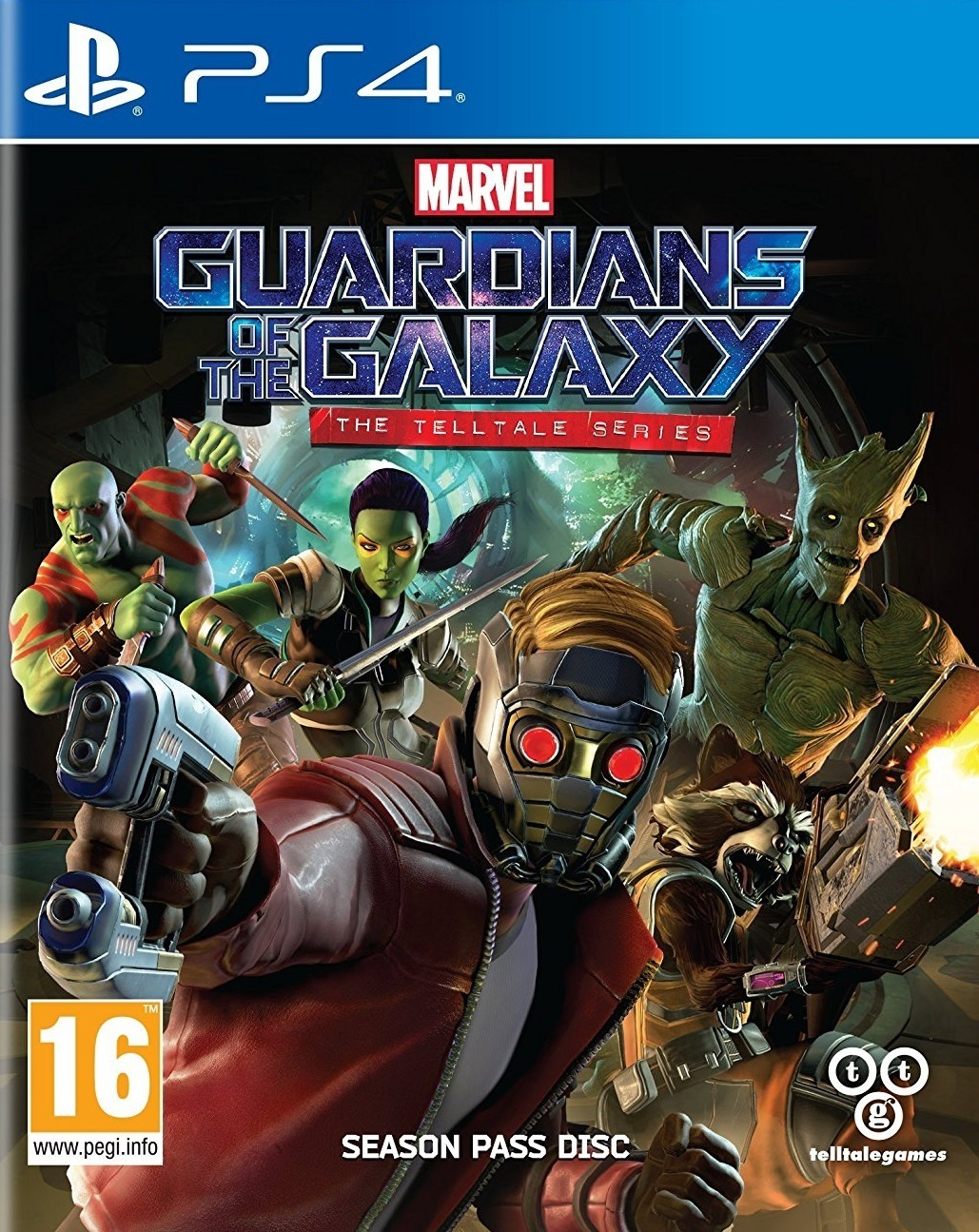 Marvel Guardians of the Galaxy: The TellTale Series for PS4 image