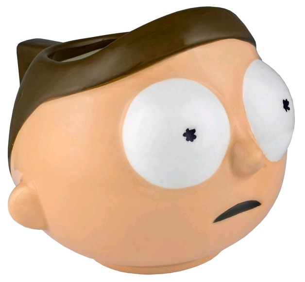 Rick and Morty - Morty Molded Mug