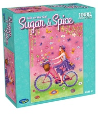Holdson: Sugar & Spice 100XL Piece Puzzle - Girl On The Go!