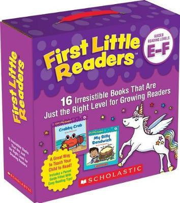 First Little Readers Parent Pack: Guided Reading Levels E & F by Liza Charlesworth image