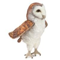 Folkmanis: Barn Owl - Plush Puppet
