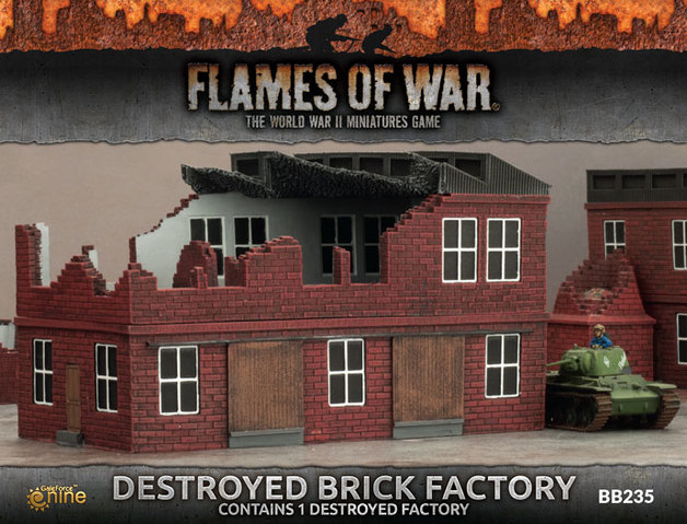 Flames of War: Destroyed Factory