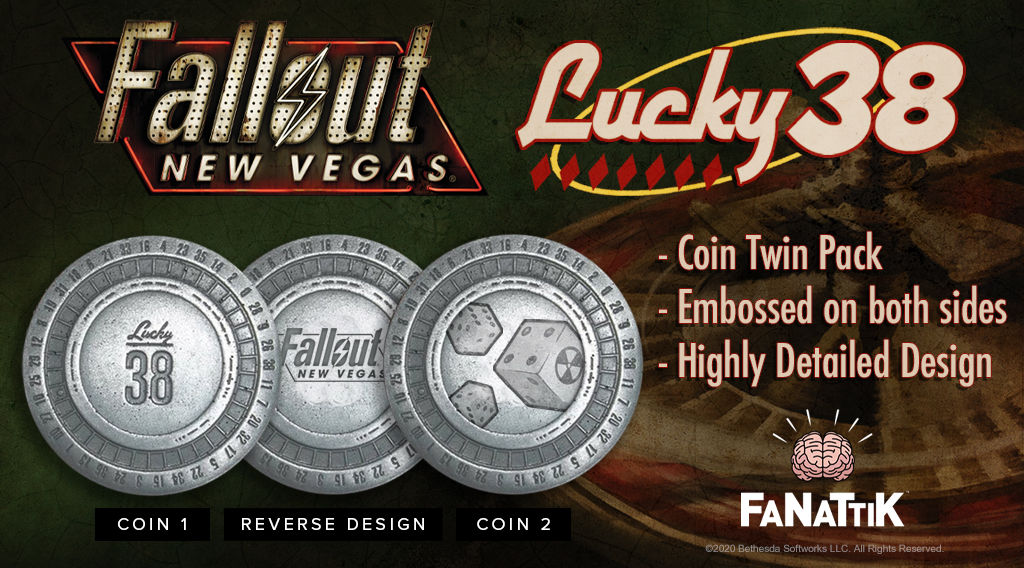 Fallout: Collectable Coin Set - New Vegas Casino Chips (Limited Edition) image