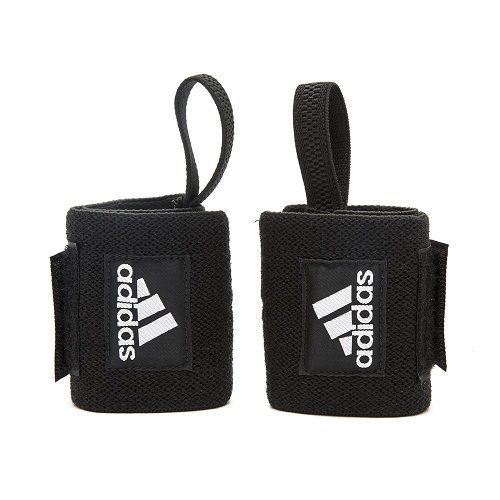 Adidas: Wrist Wraps - Black