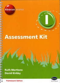 Abacus Evolve Year 1 Assessment Kit Framework by Ruth Merttens image