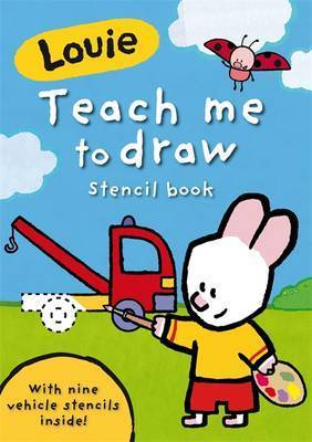 Teach Me to Draw Stencil Book by Ladybird