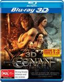 Conan the Barbarian 3D DVD