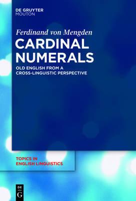 Cardinal Numerals by Ferdinand Von Mengden image