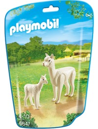 Playmobil: Zoo Theme - Alpaca with Baby (6647)
