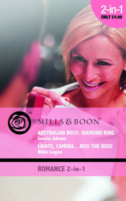 Australian Boss: Diamond Ring: AND Lights, Camera, Kiss the Boss by Jennie Adams image