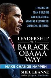 Leadership the Barack Obama Way by Shelly Leanne image